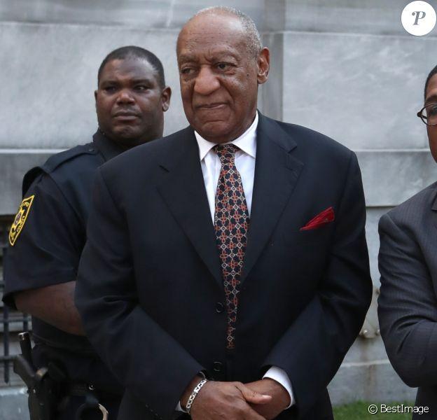 Bill Cosby lors de son 2e procès pour viol au tribunal de Norristown le 13 avril 2018.