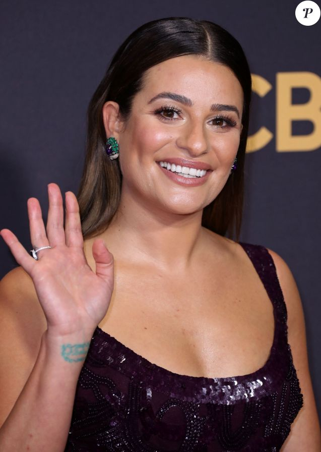 Lea Michele - 69ème cérémonie des Emmy Awards au Théâtre Microsoft à Los Angeles. Le 17 septembre 2017.