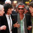 Les Rolling Stones au Festival International du Film de Berlin, en février 2008