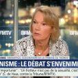 """Brigitte Lahaie face à la militante Caroline Haas - """"BFMTV"""", 10 janvier 2018"""