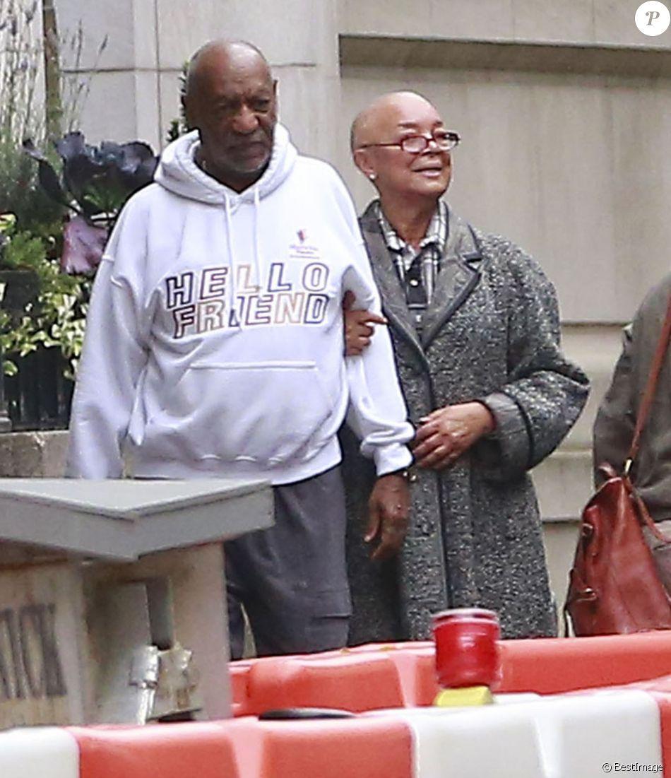 Exclusif - Camille et Bill Cosby à Boston le 22 novembre 2015
