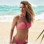 Doutzen Kroes : Maman top model divine en bikini