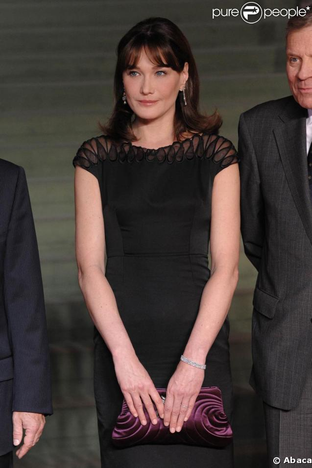 Carla Bruni à Baden-Baden, en Allemagne. 03/04/09