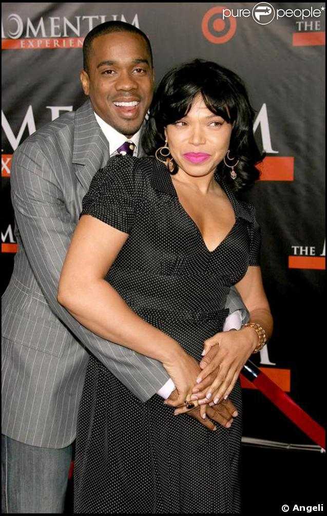 Tisha Campbell-Martin avec son mari