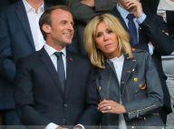Brigitte et Emmanuel Macron face à Nicolas Sarkozy pour soutenir le PSG
