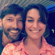 Laetitia Milot pose avec Laurent Kerusoré - Insta Story, 4 mai 2018