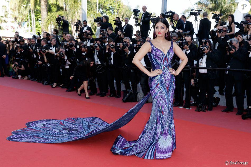 Rai Face À Reine Amber 2018 Aishwarya Heard Du Cannes Glamour YqCE0wn