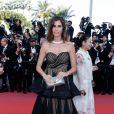 Christina Pitanguy - Montée des marches du film «Les Filles du Soleil» lors du 71ème Festival International du Film de Cannes. Le 12 mai 2018 © Borde-Jacovides-Moreau/Bestimage
