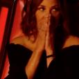 Zazie choquée dans The Voice 7 sur TF1, le 17 mars 2018.