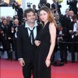 "Le chanteur M (Matthieu Chedid) et sa fille Billie - Montée des marches du film "" Les Filles du Soleil "" lors du 71ème Festival International du Film de Cannes. Le 12 mai 2018 © Borde-Jacovides-Moreau/Bestimage"
