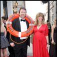 Derek Draper et Kate Garraway lors de la cérémonie des Galaxy British Book Awards à l'hôtel Grosvenor de Londres le 4 avril 2009