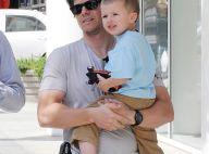 Mark Wahlberg : son fils Michael, 3 ans... a vraiment une bouille d'ange !