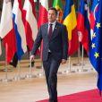 Le Premier ministre, ministre d'État du Luxembourg, Xavier Bettel lors du Sommet européen des chefs d'Etat et de gouvernement de l'Union européenne. Belgique, Bruxelles, 14 décembre 2017. © Alain Rolland / Imagebuzz / Bestimage