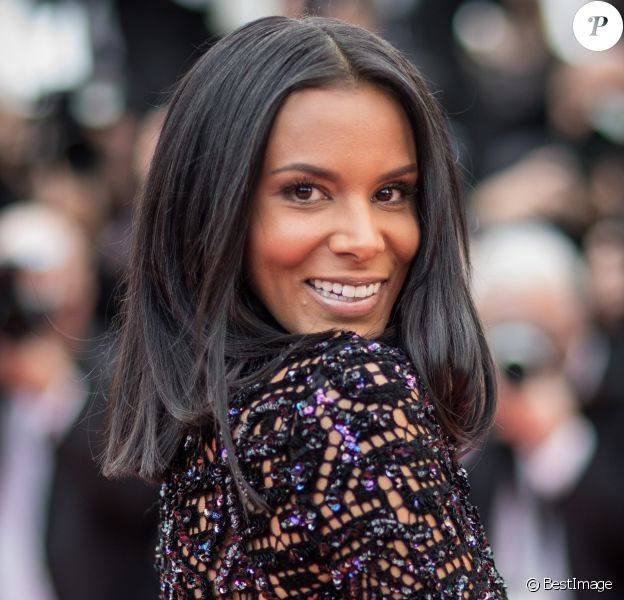 """Shy'm - Montée des marches du film """"Everybody Knows"""" lors de la cérémonie d'ouverture du 71ème Festival International du Film de Cannes. Le 8 mai 2018 © Borde-Jacovides-Moreau/Bestimage"""