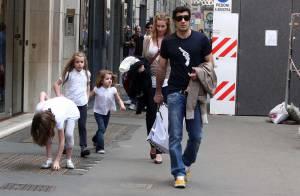 Luis Figo et sa superbe famille au complet, le bonheur total !