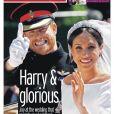 Les unes des quotidiens britanniques au lendemain du mariage du prince Harry et de Meghan Markle, le 20 mai 2018.