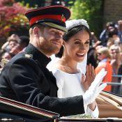 Prince Harry et Meghan Markle : La procession des mariés, rayonnants et acclamés