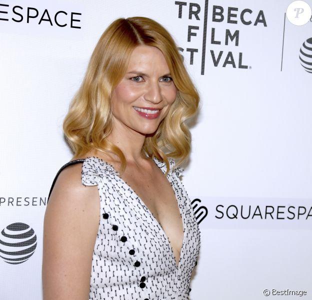 Claire Danes enceinte au Festival du Film de Tribeca à New York, le 26 avril 2018