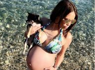 Manon Marsault, son accouchement imminent : Dernière photo enceinte en bikini