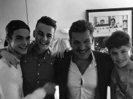 Benjamin Castaldi : Son adorable photo de famille avec sa première femme
