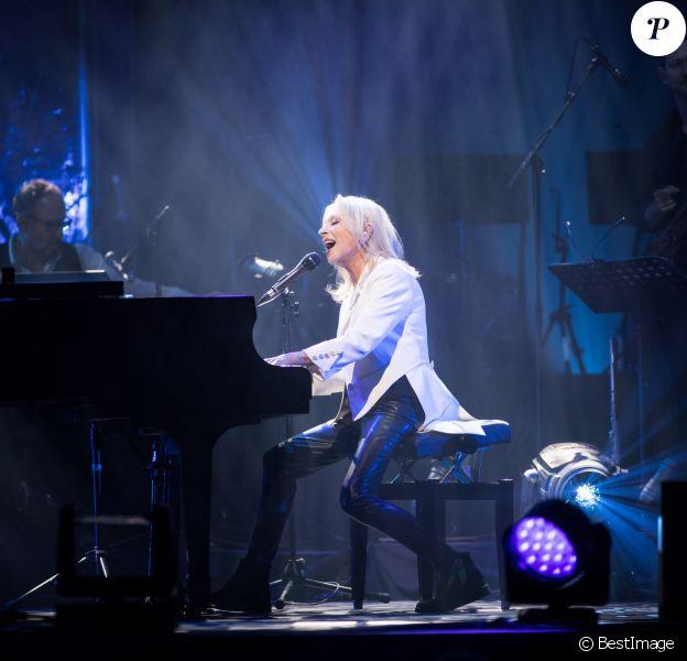 Exclusif - Véronique Sanson en concert à l'Olympia. Le 15 décembre 2017 © Cyril Moreau / Bestimage 15/12/2017 -