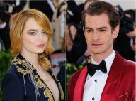 """Emma Stone """"intime"""" avec son ex Andrew Garfield, trois ans après leur rupture"""