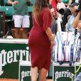 Marion Bartoli lors des internationaux de tennis de Roland Garros le 28 mai 2018. En attendant de redisputer des matchs, la sportive commente les rencontres pour Eurosport à l'occasion du tournoi de Roland-Garros. © Dominique Jacovides - Cyril Moreau / Bestimage