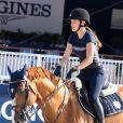 Jessica Springsteen - Cinquième édition du Longines Athina Onassis Horse Show sur la plage de Pampelonne à Ramatuelle, France, le 30 mai 2018.