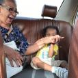 La grand-mère de Stomy Bugsy avec son petit-fils, Lat Dior sur Instagram.