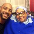 Stomy Bugsy avec sa grand-mère sur Instagram.