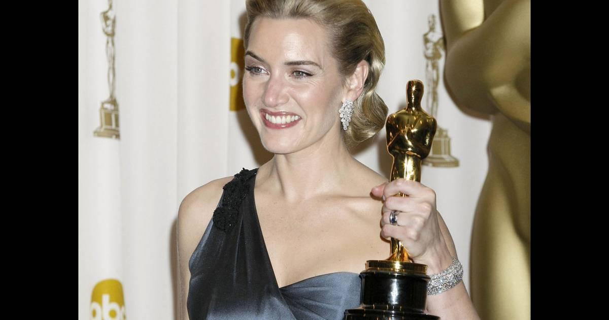 Kate Winslet oscarisée le 22 février 2009...