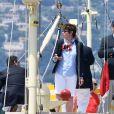 Le prince Albert II de Monaco - Départ du 1er Monaco Globe Series à Monaco le 3 juin 2018. © Bruno Bebert/Bestimage