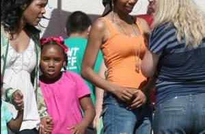 Quand la chanteuse Brandy s'éclate avec sa fille de 8 ans !