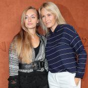 Estelle Lefébure : Après Ilona, elle illumine Roland-Garros avec sa fille Emma