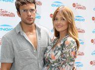 Caroline Receveur, enceinte et sublime à Roland-Garros, encourage Hugo