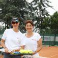 Exclusif - Geraldine Maillet et Florence Massenadat - 26ème édition du Trophée des personnalités en marge des Internationaux de Tennis de Roland Garros à Paris. Le 6 juin 2018. © Denis Guignebourg / Bestimage