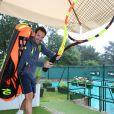 Exclusif - Christophe Michalak lors de la 26ème édition du Trophée des personnalités en marge des internationaux de tennis de Roland Garros à Paris le 5 juin 2018. © Denis Guignebourg / Bestimage