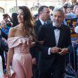 George Clooney et sa femme Amal Clooney Alamuddin arrivent à la soirée American Film Institute's 46th Life Achievement Award au théâtre Dolby à Hollywood, le 7 juin 2018