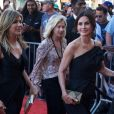 Jennifer Aniston et Courteney Cox arrivent à la soirée American Film Institute's 46th Life Achievement Award au théâtre Dolby à Hollywood, le 7 juin 2018
