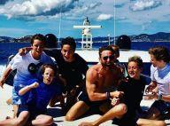 David Guetta s'éclate avec son fils Elvis à Ibiza non loin de Cathy...