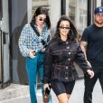 Kourtney Kardashian et sa soeur Kendall Jenner à New York, le 5 juin 2018.