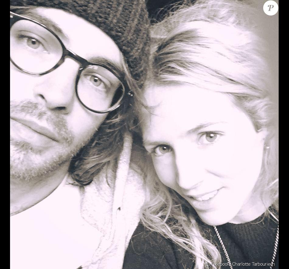 Charlotte Tarbouriech et Louis Giacobetti, en février 2017 sur Facebook.