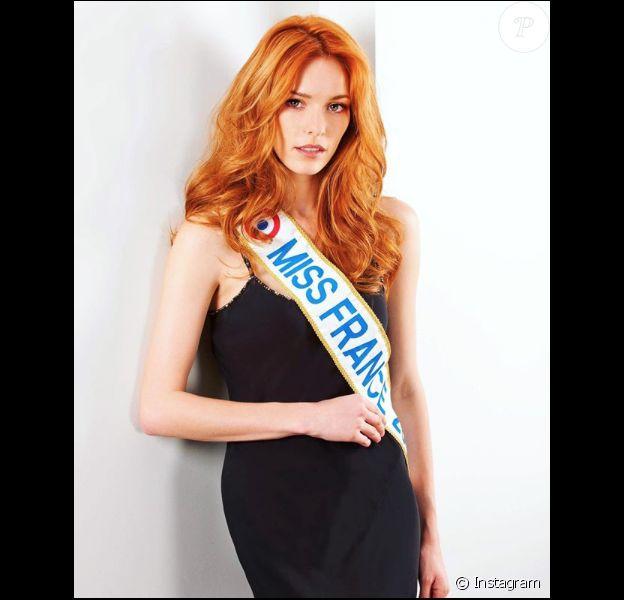 Maëva Coucke (Miss France 2018) le 12 juin 2018.