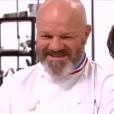 """Philippe Etchebest lors du 8ème épisode de """"Top Chef"""" (M6) mercredi 21 mars 2018."""