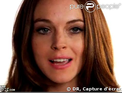 Lindsay Lohan pour Funny or die