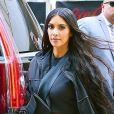 Kim Kardashian et sa fille North West de retour à leur hôtel à New York. Le 14 juin 2018.