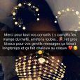 Demdem, la femme de Maîtres Gims, a demandé l'aide de ses fans sur Snapchat pour perdre du poids. Juin 2018.