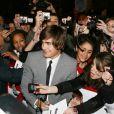 La tournée promotionnelle de Zac avait été un succès à Paris où les fans l'attendaient