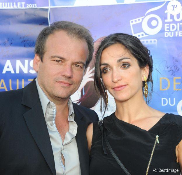 """Stephane Henon et son épouse Isabelle - Les 10 ans du Festival du Film """"Les Herault du Cinema et de la Tele 2013"""" au Palais des Congrès du Cap d'Agde, le 30 Juin 2013."""