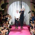 Défilé Dolce & Gabbana The Secret pendant la Fashion Week Printemps / Été 2019 homme de Milan, Italie, le 16 juin 2018.